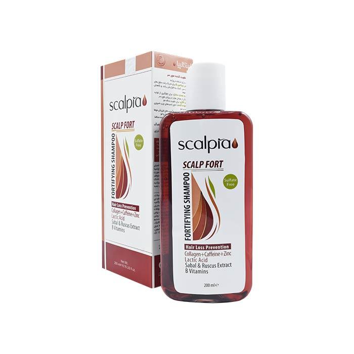 شامپو تقویت کننده موی سر اسکالپیا - بدون سولفات