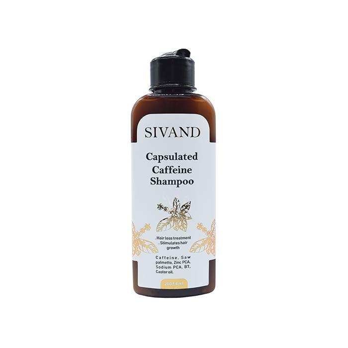 شامپو ضد ریزش کافئین سیوند - زیباچه - فروشگاه محصولات زیبایی، ریزش مو، پوست و لاغری